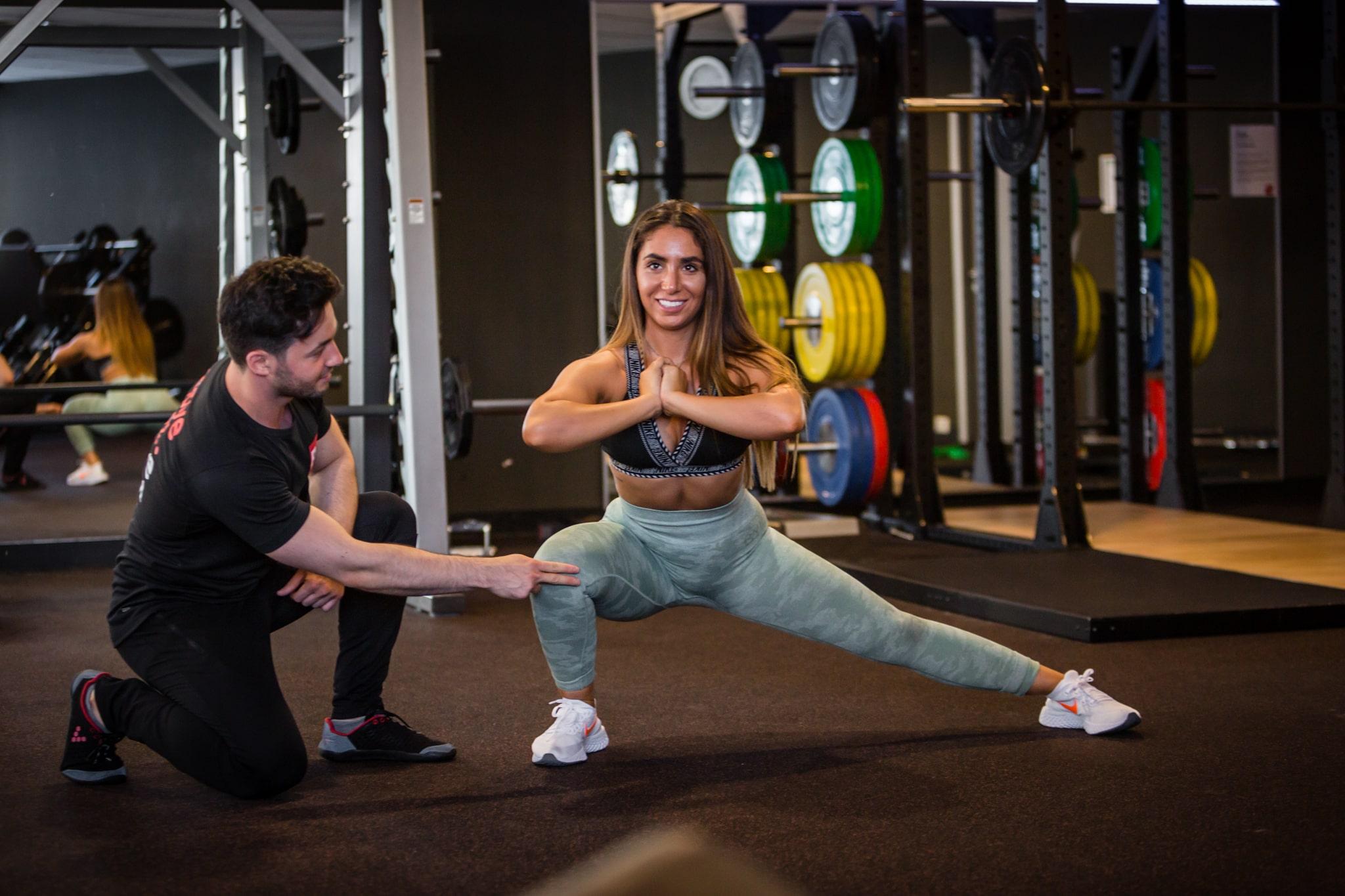 Richtige Ausführung der Übungen im